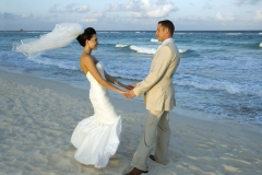 Caribbean Beach Wedding - Celebrating On The Beach
